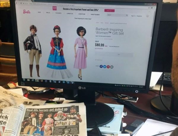 Frida Kahlo et Hélène Darroze ont désormais leur Barbie