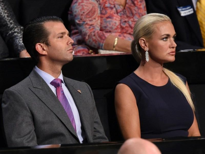 L'épouse du fils aîné de Donald Trump demande le divorce