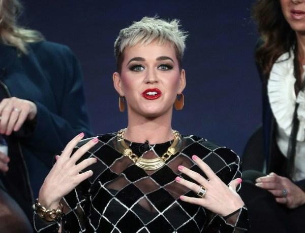 Controverse aux Etats-Unis autour d'un bisou volé par Katy Perry