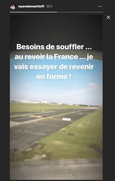 Rayane Bensetti en deuil : Il fuit la France
