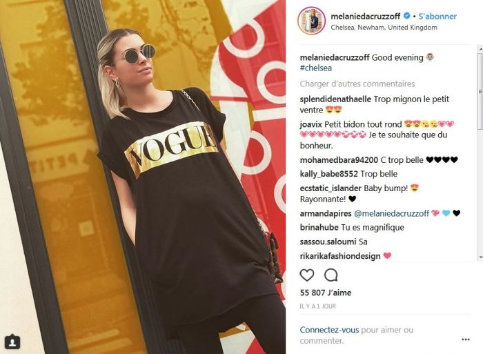 Mélanie Da Cruz enceinte : Son baby bump de plus en plus visible !