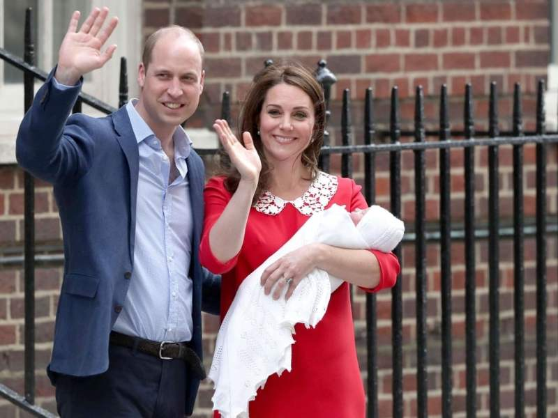 Kate Middleton et le prince William révèlent (enfin) le prénom de leur troisième enfant !