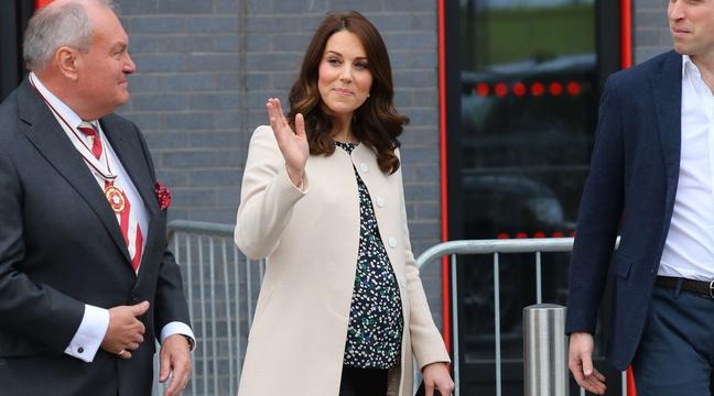 Bébé royal: Kate Middleton admise à la maternité