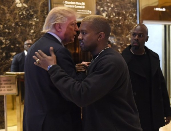 Kanye West déclare sa flamme à son « frère » Donald Trump…