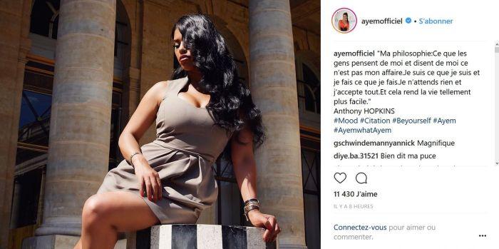 Ayem Nour : Elle répond à ses haters sur Instagram
