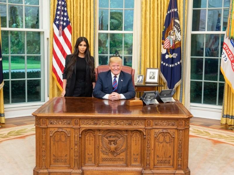 Mais pourquoi Kim Kardashian a-t-elle rencontré Donald Trump ?