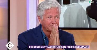 """Mort de Pierre Bellemare : Son fils Pierre Dhostel très ému sur le plateau de """"C à vous"""""""