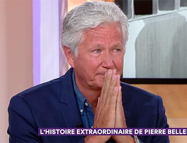 Mort de Pierre Bellemare : Son fils Pierre Dhostel très ému sur le plateau de «C à vous»