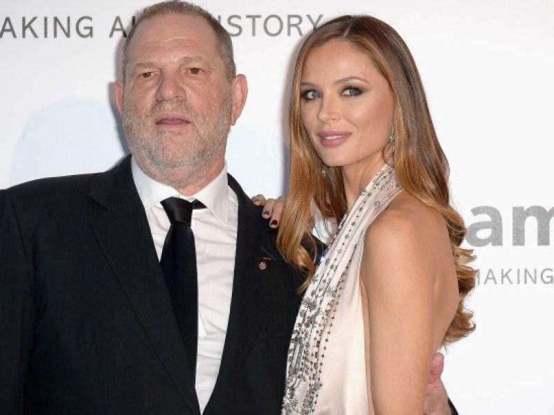 Premières déclarations de la femme d'Harvey Weinstein à la suite du scandale