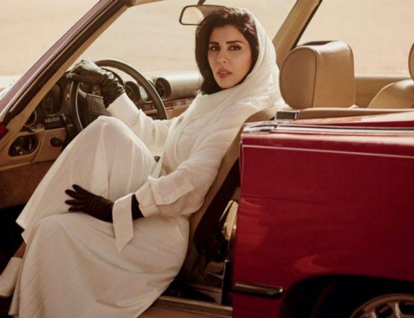 Une princesse saoudienne au volant à la Une de Vogue crée la polémique