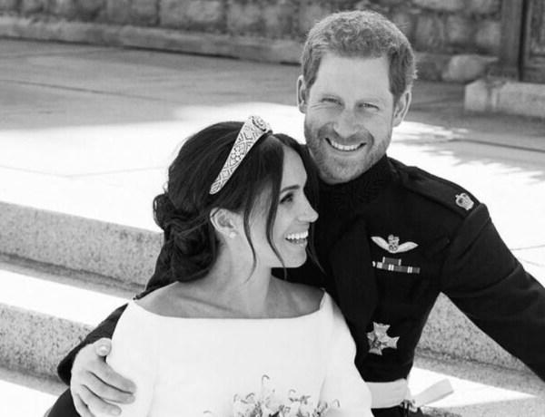 Meghan Markle et le prince Harry : Leur touchant hommage à Lady Diana sur les photos officielles de leur mariage