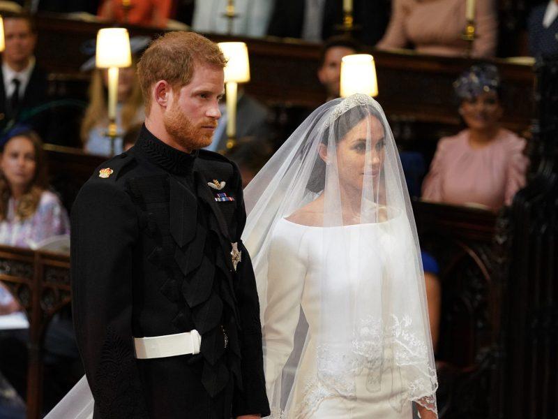 Mariage du prince Harry et de Meghan Markle : La cérémonie en images