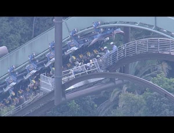 Japon : Frayeur pour les passagers d'un grand huit bloqué pendant deux heures…