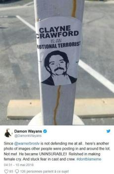 Damon Wayans balance sur son ancien partenaire Clayne Crawford.