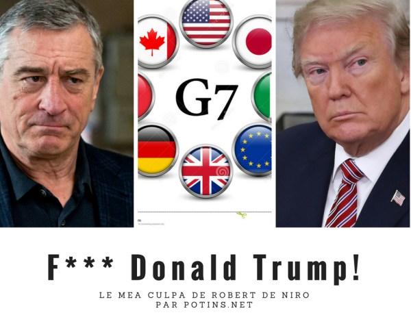Robert De Niro insulte Donald Trump… puis fait un mea culpa platonique