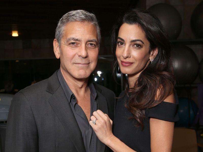 Amal Clooney La Tendre Déclaration Damour Qui A ému Son