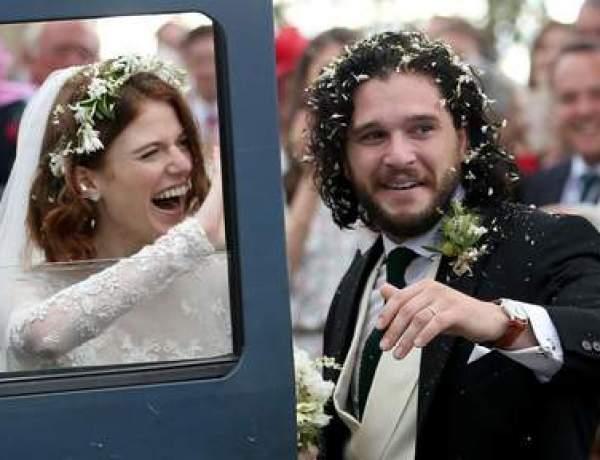 Game of Thrones : Kit Harington et Rose Leslie sont mariés !