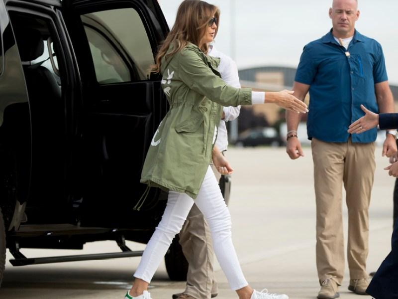 Fashion faux pas ou provocation ? Melania Trump : Sa veste au coeur de la polémique