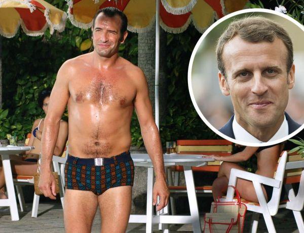"""<font color=""""#be075e"""" >OSS 117 ! </font> Quand Jean Dujardin se moque d'Emmanuel Macron"""