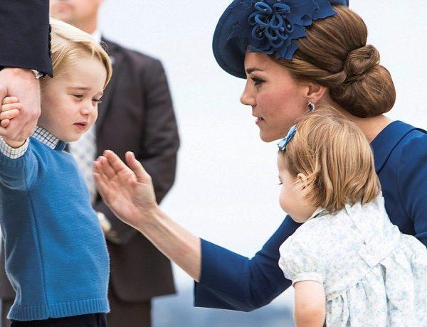 Kate Middleton: La Princesse Charlotte et le Prince George interdits d'appareils numériques !