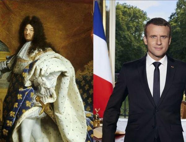 Emmanuel Macron comparé à Louis XIV par un conseiller !