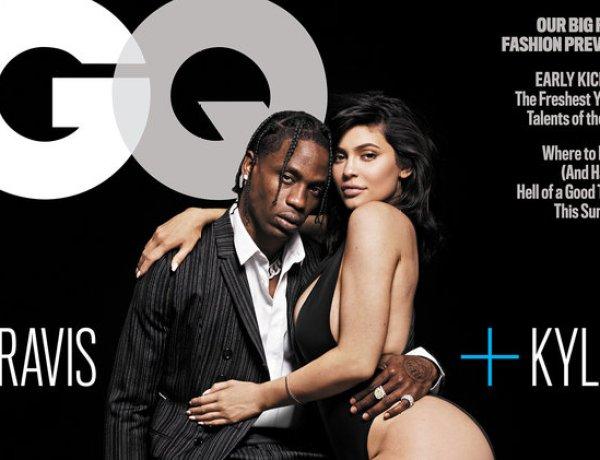 Kylie Jenner et Travis Scott, couple sexy en Une de GQ