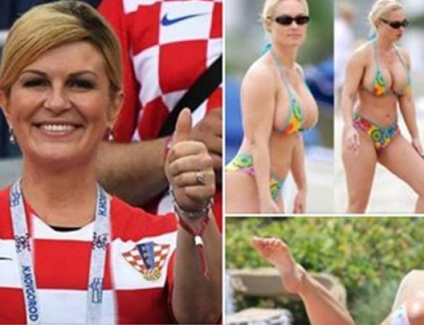 Kolinda Grabar-Kitarović : Non, la présidente croate ne se balade pas en mini bikini