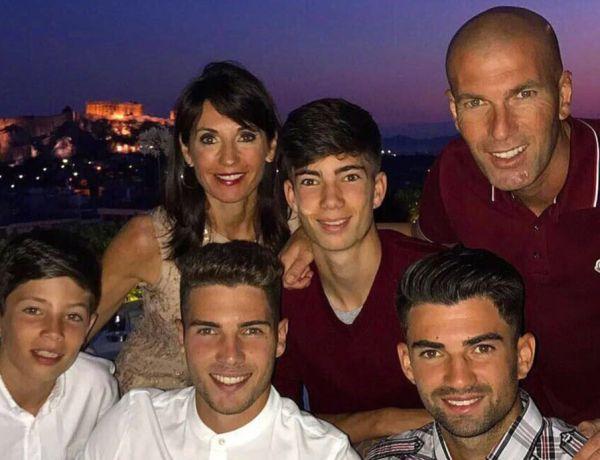 Quand le clan Zidane dévoile un cliché de famille tout en abdos!