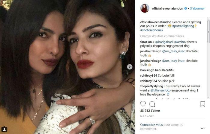 Priyanka Chopra : Sa bague de fiançailles offerte par Nick Jonas enfin dévoilée !