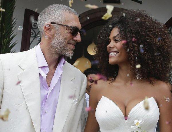 Tina Kunakey mariée : elle s'affiche topless !
