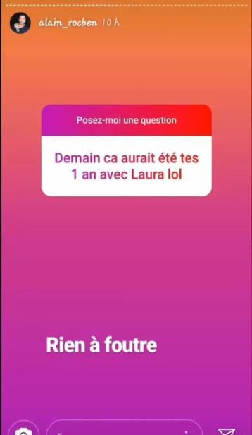 Alain Rocben balance sur Laura Lempika