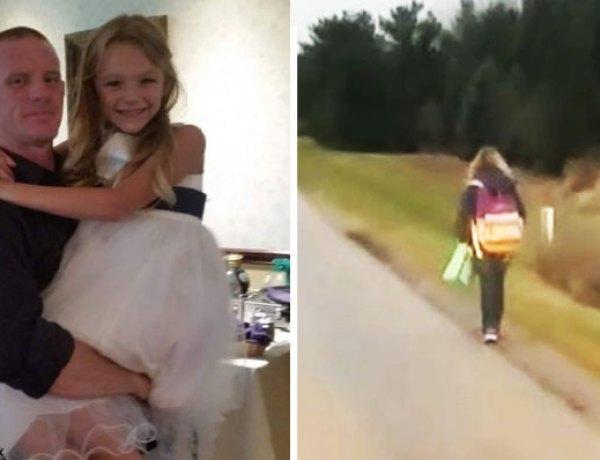 Harcèlement : Un père force sa fille à marcher jusqu'à l'école pour lui donner une bonne leçon
