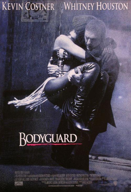 Affiche du film Bodyguard de Mick Jackson.