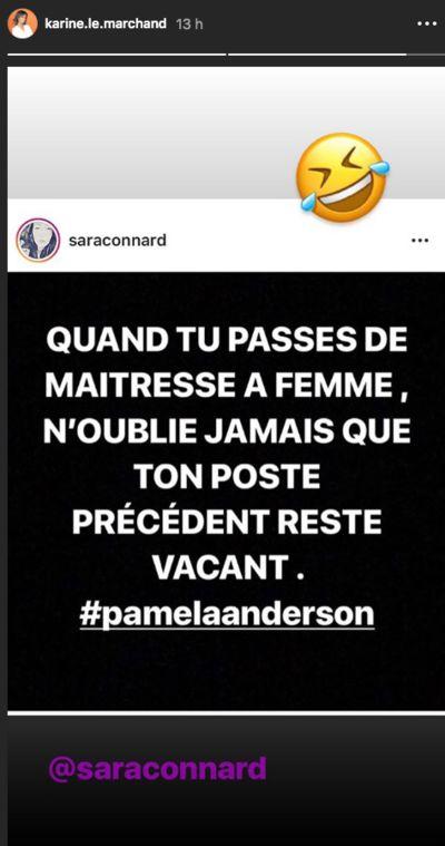 Adil Rami et Pamela Anderson séparés : Karine Le Marchand tacle la comédienne !