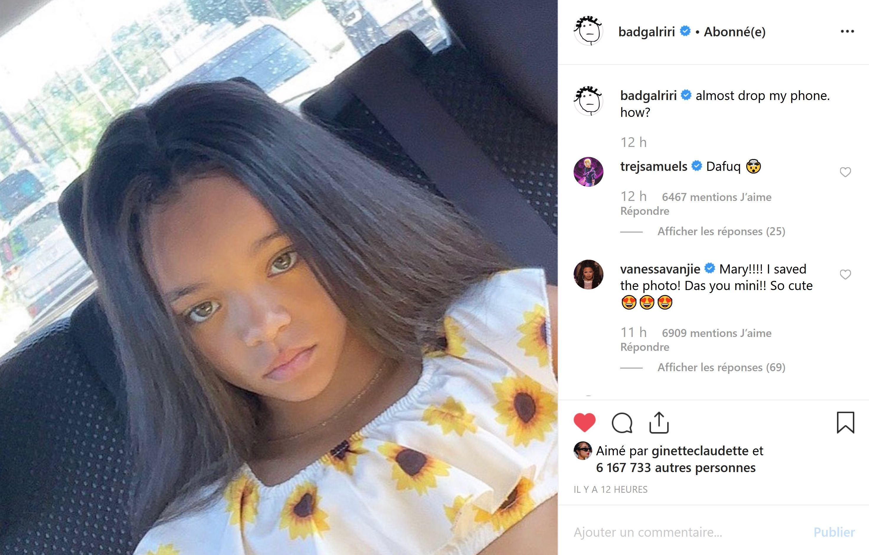 Rihanna : Médusée par son impressionnante ressemblance physique avec cette petite fille !