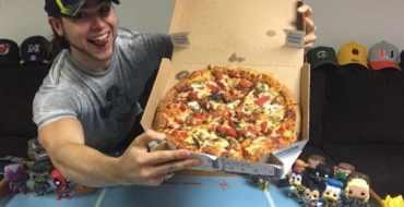 Avant/Après : Il mange de la pizza tous les jours pendant un an