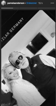 Pamela Anderson : elle dévoile un premier cliché avec son nouveau mari
