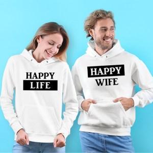 Mikiny pre páry – Happy Life