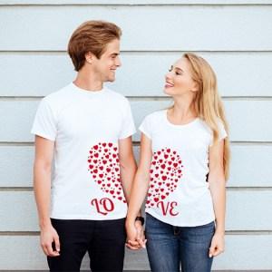 Tričká pre páry – Love