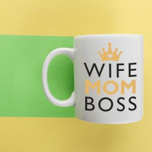 Hrnček – Wife Mom Boss