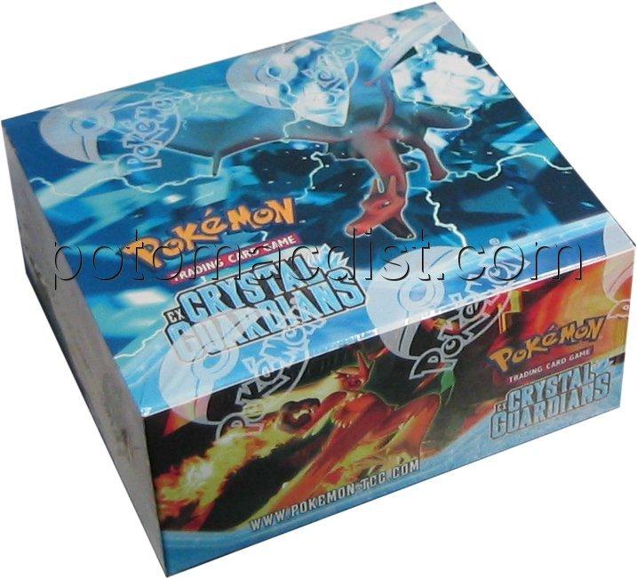 Pokemon EX Crystal Guardians Booster Box Potomac