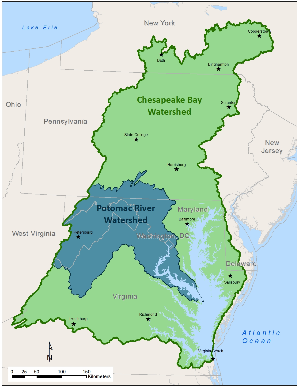 Icprb And The Chesapeake Bay Program