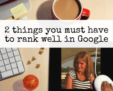 How to rank for your keywords in Google - from PotPieGirl.com