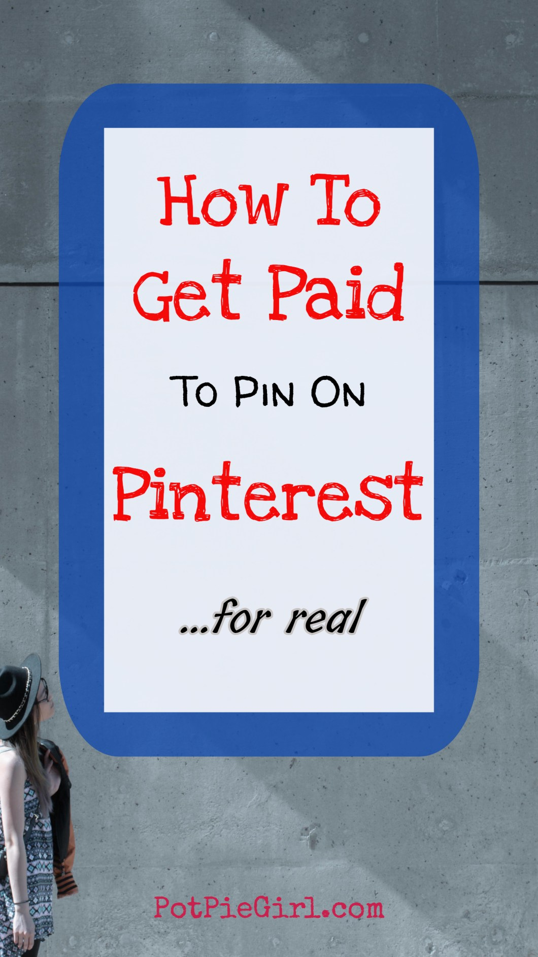 How to get paid to pin on Pinterest - YES!  Make money pinning on Pinterest... for real!  Very smart idea!