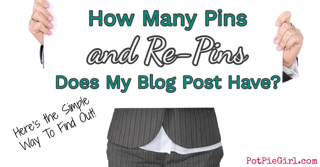 Here's the EASY way to see how many pins and repins in TOTAL your blog post has