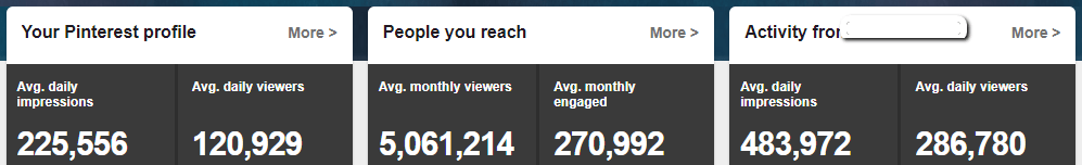 Pinterest Stats for PotPieGirl's NEW Blog - see how she did it.