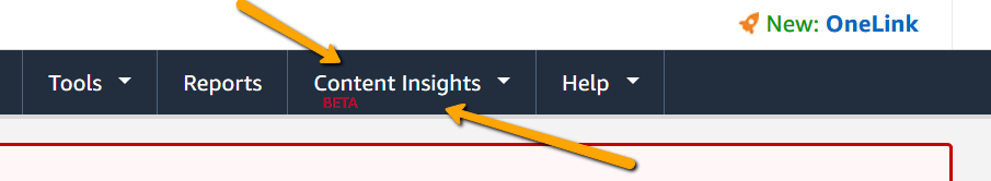 NEW Amazon Insights for bloggers from PotPieGirl