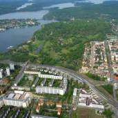 Luftbild Potsdam Babelsberger Park