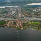 Luftbild Potsdam Werder Insel