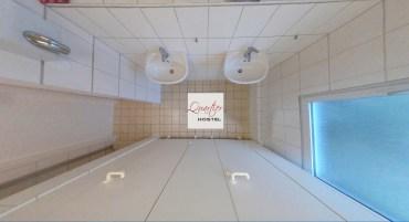 Gemeinschaftsbad - shared bathroom